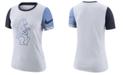 Nike Women's Chicago Cubs Slub Logo Crew T-Shirt