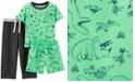 Carter's Toddler Boys 3-Pc. Dinosaur Pajamas Set