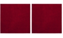 "Safavieh Arizona Shag Red 6'7"" x 6'7"" Square Area Rug"