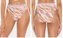 Soluna Over the Moon Printed High-Waist Bikini Bottoms