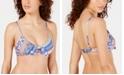 Nanette Lepore Scarf Patchwork Enchantress Bikini Top