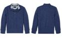 Polo Ralph Lauren Little Boys Cotton Mesh Half-Zip Pullover
