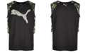 Puma Big Boys Colorblocked Sleeveless T-Shirt