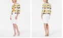Kasper Jacquard Flyaway Jacket, Crisscross Stretch Top & Lightweight Skirt