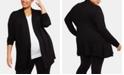Motherhood Maternity Plus Size Open-Front Cardigan