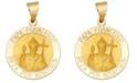 Macy's Papa Francisco Medal Pendant in 14k Yellow Gold