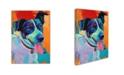 "Trademark Global Corina St. Martin 'Willie Terrier Dog' Canvas Art - 24"" x 18"" x 2"""