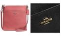 COACH Messenger Crossbody in Crossgrain Leather