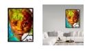 "Trademark Global Dana Brett Munach 'Sara' Canvas Art - 47"" x 35"" x 2"""