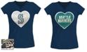 5th & Ocean Big Girls Seattle Mariners Flip Sequin T-Shirt