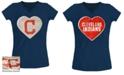 5th & Ocean Big Girls Cleveland Indians Flip Sequin T-Shirt