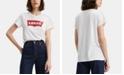 Levi's Women's Cotton Batwing Perfect Graphic Logo T-Shirt