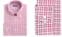 Club Room Classic/Regular-Fit Stretch Wrinkle-Resistant Plaid Dress Shirt, Created for Macy's