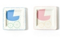 Coton Colors by Laura Johnson Baby Carriage Square Plate