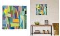 "iCanvas ""Hamburg"" By Kim Parker Gallery-Wrapped Canvas Print - 18"" x 18"" x 0.75"""