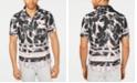INC International Concepts I.N.C. Men's Frag Pattern Shirt, Created for Macy's