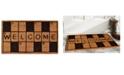 """Home & More Crossword Welcome 17"""" x 29"""" Coir/Vinyl Doormat"""