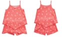 Epic Threads Little Girls 2-Pc. Zebra-Print Tank Top & Shorts Set, Created for Macy's
