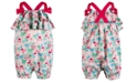 First Impressions Baby Girl Flamingo Sunsuit