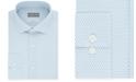 Michael Kors Men's Slim-Fit Airsoft Stretch Moisture-Wicking Non-Iron Neat-Print Dress Shirt