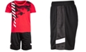 Ideology Little Boys 2-Pc. Camo T-Shirt & Shorts Set, Created for Macy's