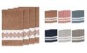 Linum Home Turkish Cotton Noah 4-Pc. Embellished Bath Towel Set