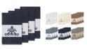 Linum Home Turkish Cotton Scarlet 4-Pc. Embellished Hand Towel Set