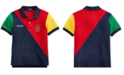 Polo Ralph Lauren Toddler Boys Colorblocked Cotton Mesh Polo Shirt