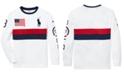 Polo Ralph Lauren Big Boys Performance Graphic T-Shirt