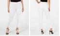 Hue Women's Extreme Zip Hem Denim Leggings, Created for Macy's