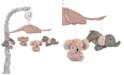 Lambs & Ivy Calypso Koala and Elephant Musical Baby Crib Mobile