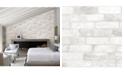 "Brewster Home Fashions Reclaimed Bricks Wallpaper - 396"" x 20.5"" x 0.025"""