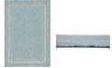 Bridgeport Home Pashio Pas5 Aquamarine 7' x 10' Area Rug