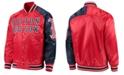 Starter Men's Boston Red Sox Dugout Starter Satin Jacket