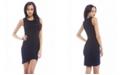AX Paris Plain Asymmetric Front Dress