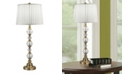 Dale Tiffany Aquila Lead Hand Cut Crystal Buffet Table Lamp