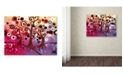 "Trademark Global Natasha Wescoat 'Infinite Treasures' Canvas Art - 18"" x 24"""