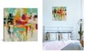"iCanvas Summer Silk Road by Silvia Vassileva Gallery-Wrapped Canvas Print - 18"" x 18"" x 0.75"""