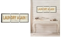 """iCanvas Laundry Again! by Pela Studio Gallery-Wrapped Canvas Print - 20"""" x 60"""" x 1.5"""""""