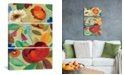 """iCanvas Summer Floral Panel Ii by Silvia Vassileva Gallery-Wrapped Canvas Print - 60"""" x 40"""" x 1.5"""""""