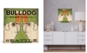 """iCanvas Bulldog Brewing Co. by Ryan Fowler Gallery-Wrapped Canvas Print - 18"""" x 18"""" x 0.75"""""""