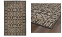 Kaleen Restoration RES04-02 Black 2' x 3' Area Rug