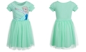 Disney Little Girls Elsa Mesh Dress