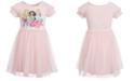 Disney Little Girls Princesses & Pets Mesh Dress