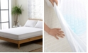 Cheer Collection Knitted Fabric Waterproof Twin Mattress Protector