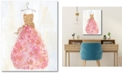 """Courtside Market Ball Gown II 16"""" x 20"""" Gallery-Wrapped Canvas Wall Art"""