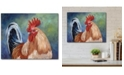 """Courtside Market February Rooster II 16"""" x 20"""" Gallery-Wrapped Canvas Wall Art"""