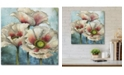 "Courtside Market Poppies Over I 16"" x 16"" Gallery-Wrapped Canvas Wall Art"