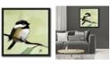 "Courtside Market Bluebird II 18"" x 18"" Canvas Wall Art with Float Moulding"