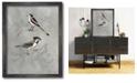 "Courtside Market Aviary IV 16"" x 20"" Framed Canvas Wall Art"